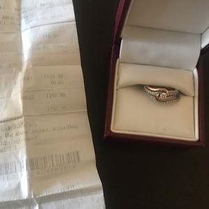 Bridal set from Helzberg